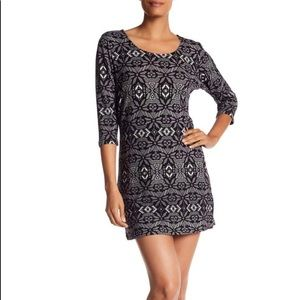 NEW Papillon Multicolor Patterned Sweater Dress